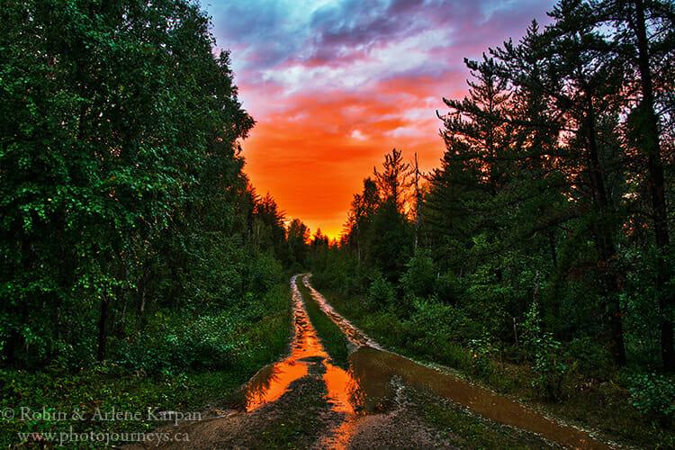 Sunset, Saskatchewan