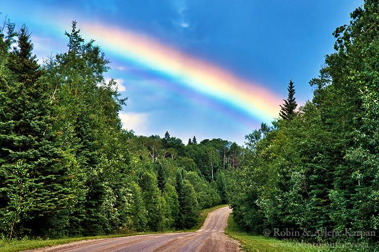 Rainbow, Prince Albert National Park, Saskatchewan