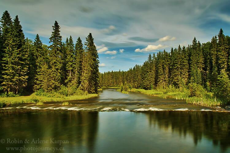 Waskesiu River, Saskatchewan
