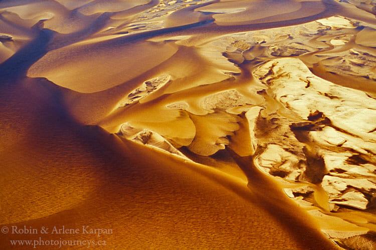 Sand in the William River, Saskatchewan