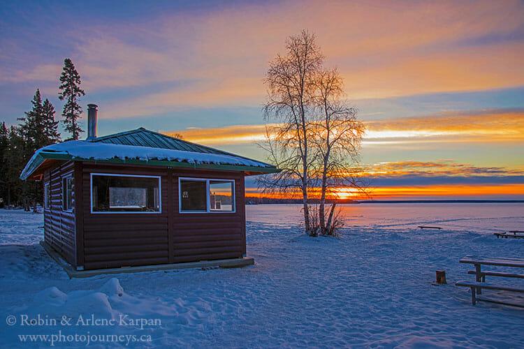 Birch Bay, Prince Albert National Park, Saskatchewan