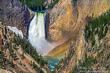 Yellowstone Falls, Yellowstone National Park