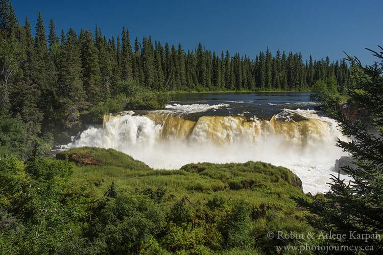 Pisew Falls, Manitoba