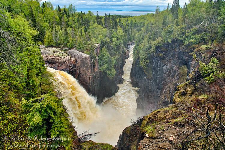 Aguasabon Falls, Ontario