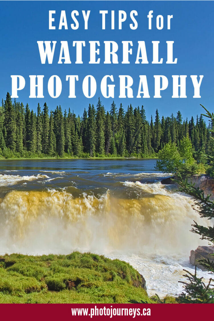 PIN for Waterfall Photography