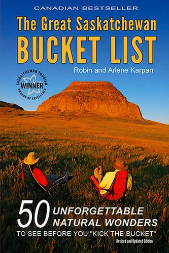 Great Saskatchewan Bucket List book cover