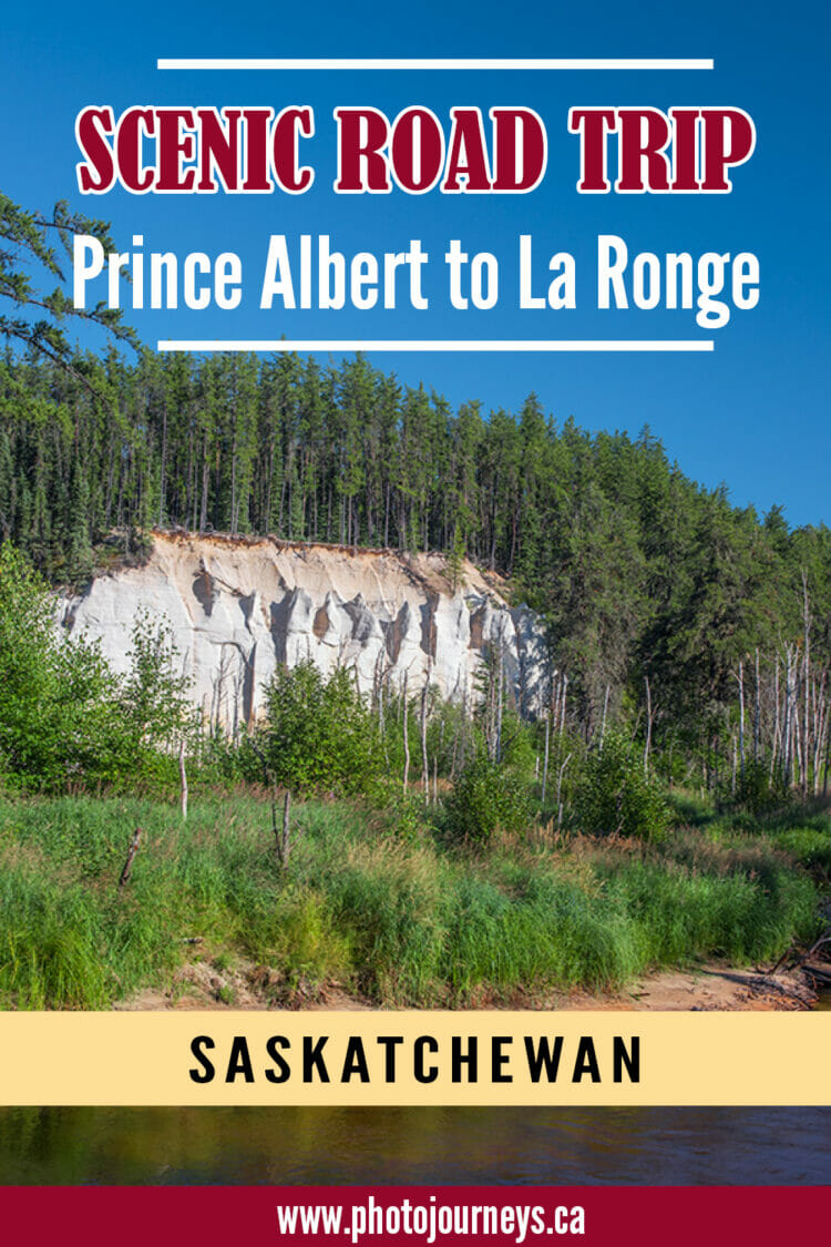 PIN for Prince Albert to La Ronge article
