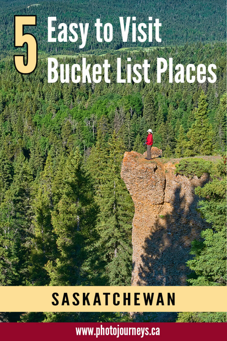 PIN for Easy Places to Visit in Saskatchewan