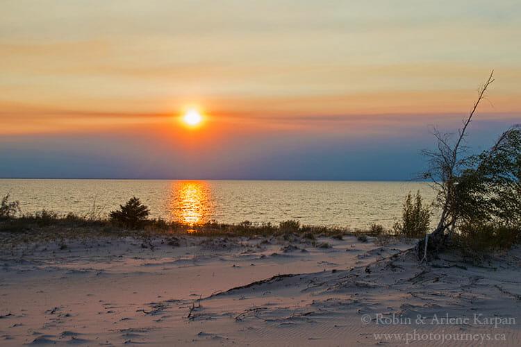Smoke, Lake Athabasca, SK