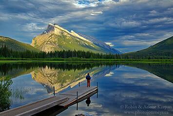 Vermilion Lakes, Banff Naitonal Park, Alberta, Canada
