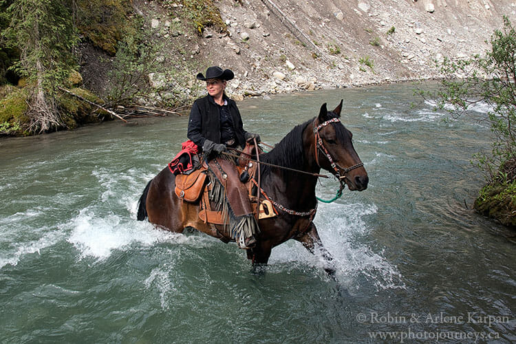 Horseback riding, Banff National Park
