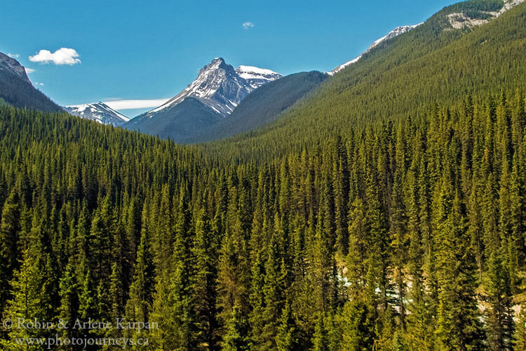 Banff backcountry scenery