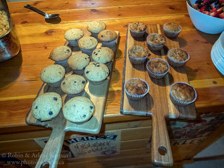 Muffins, Sundance Lodge, Banff National Park