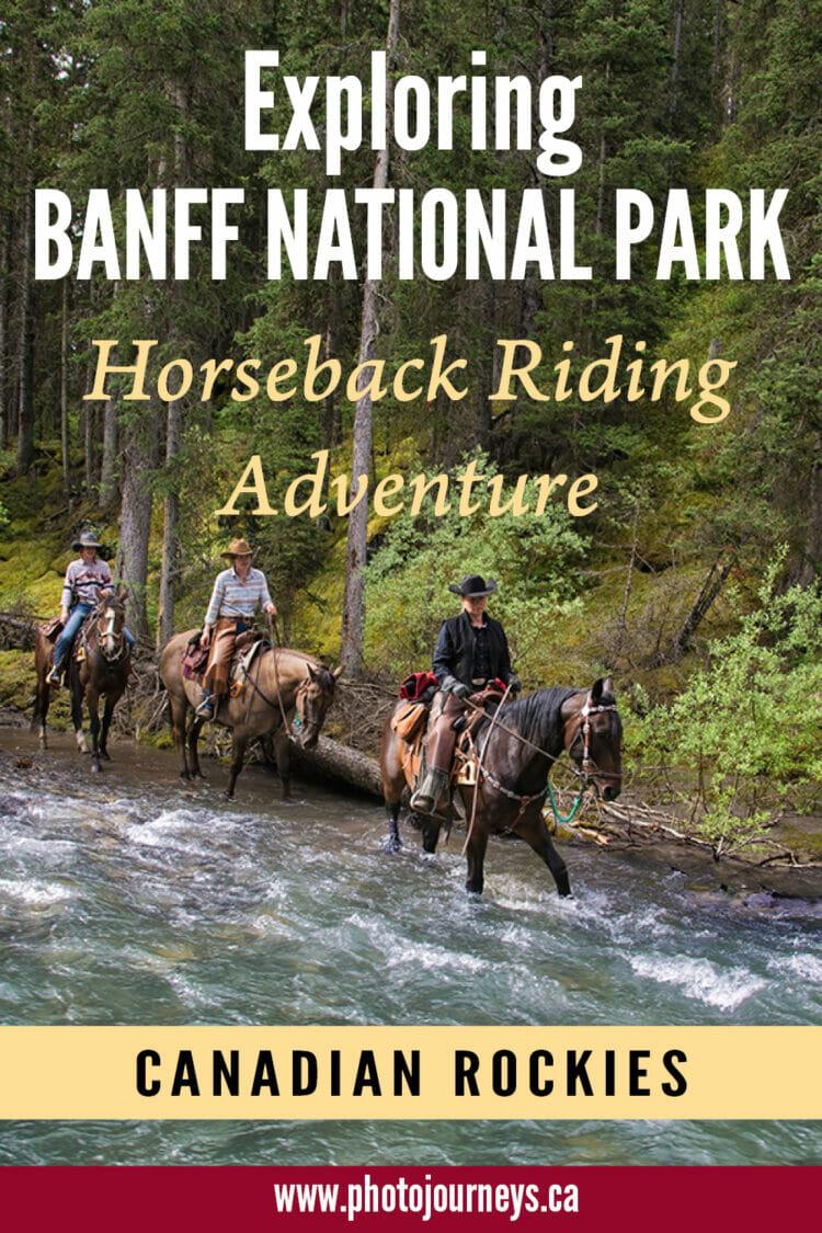 Banff Horseback Adventure PIN