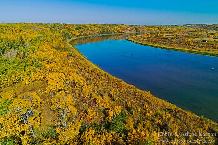 Gabriel's Bridge, South Saskatchewan River