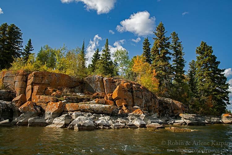 Rocks, Amisk Lake, SK