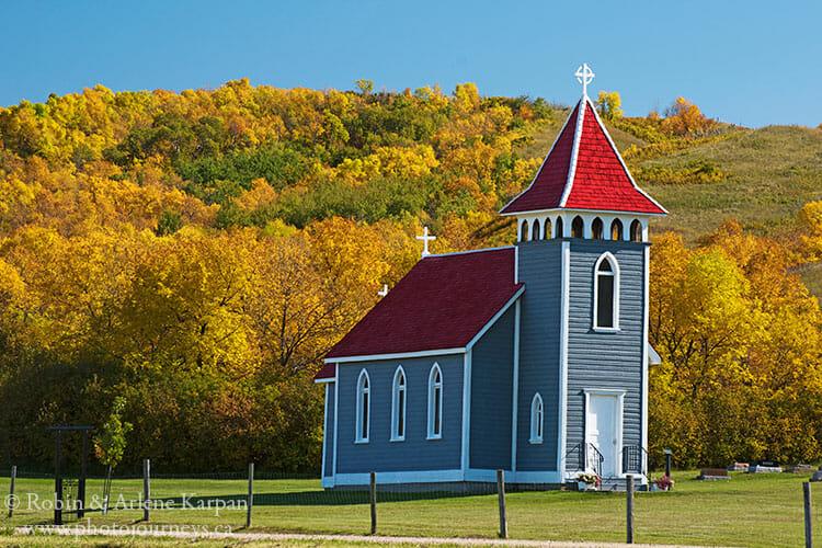St. Nicholas Kennel Church near Craven, Saskatchewan