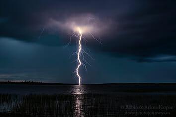 Lightning, Tyrrell Lake, SK