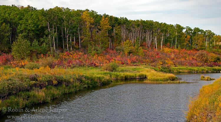 Whitesand River near Theodore, Saskatchewan